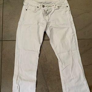 White citizen jeans